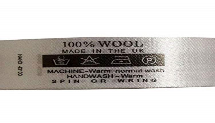 روشهای شستشوی پارچه پشمی_برچسب پارچه