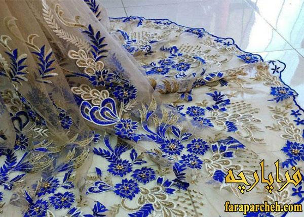 بهترین پارچه لباس مجلسی زنانه _ دانتل